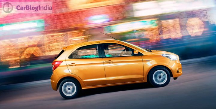 new ford figo price in India, images side profile