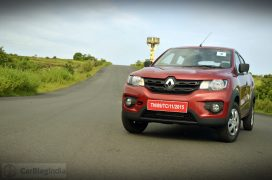 renault-kwid-test-drive-review-red-rxt-model-front