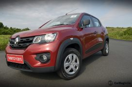 renault-kwid-test-drive-review-red-rxt-model-front-angle