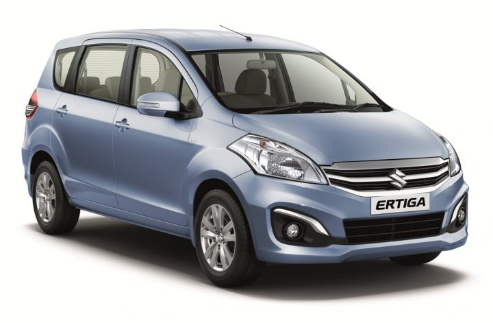 Best CNG Cars in India 2017 - Maruti Suzuki Ertiga