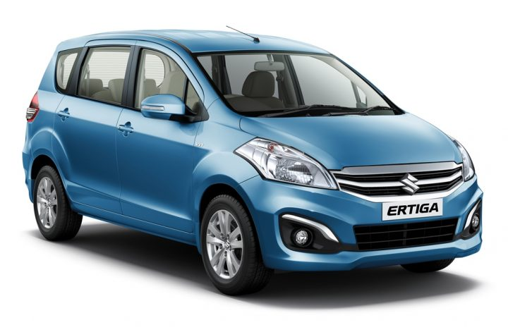 Hybrid Cars in India - Maruti Suzuki Ertiga