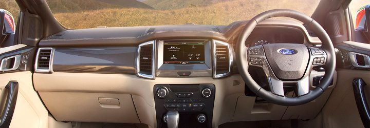 New Ford Endeavour India launch-dashboard