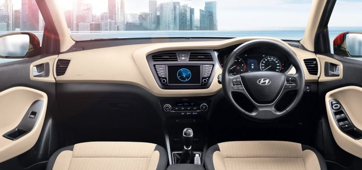 2018 hyundai elite i20 facelift interiors