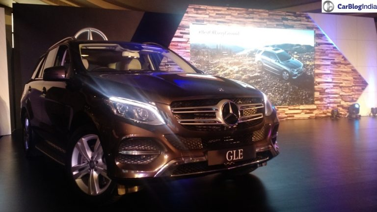 Mercedes Benz GLE India Price List Revealed; Starts at INR 58.9 Lacs