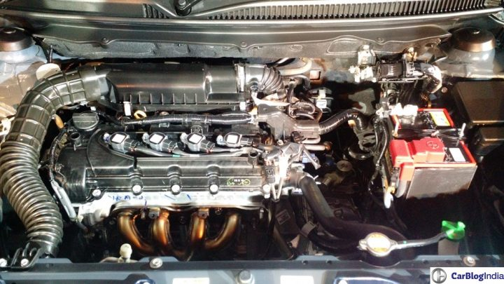new maruti baleno india ENGINE