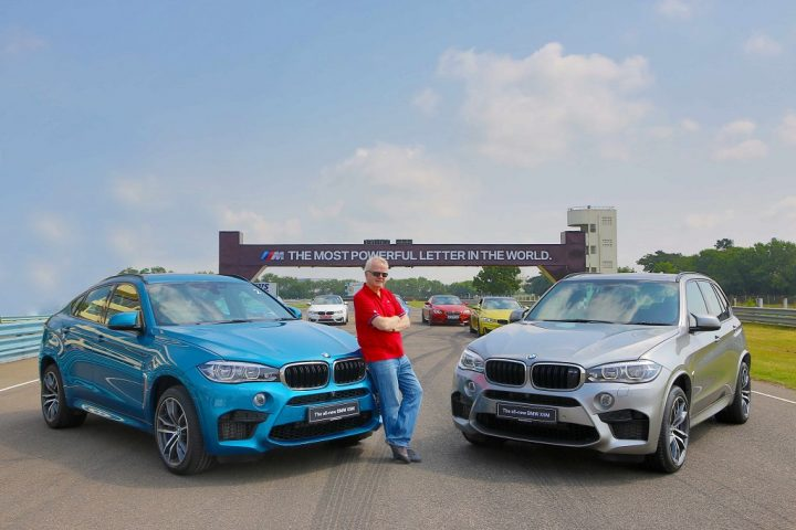 Mr. Philipp von Sahr with the all-new BMW X5M and the all-new BMW X6M (1)