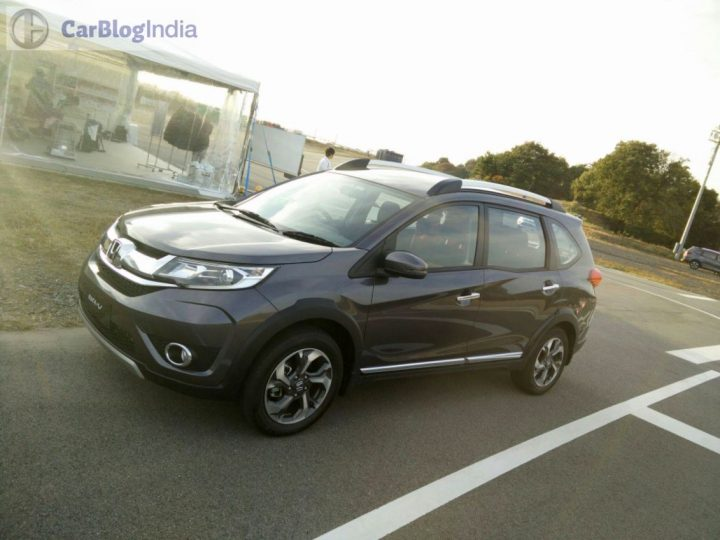 Honda BRV India Launch front-angle