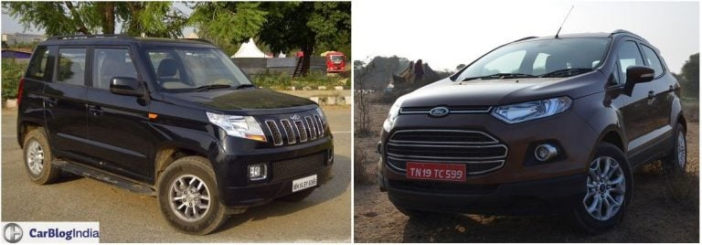Mahindra TUV300 vs Ford EcoSport – Comparison
