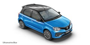 new toyota etios liva dual tone colours ultramarine blue