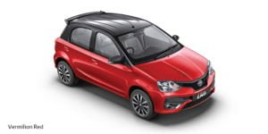 new toyota etios liva dual tone colours vermilion red