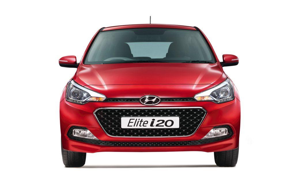 2016 Hyundai Elite I20 Official Image Red Front Carblogindia