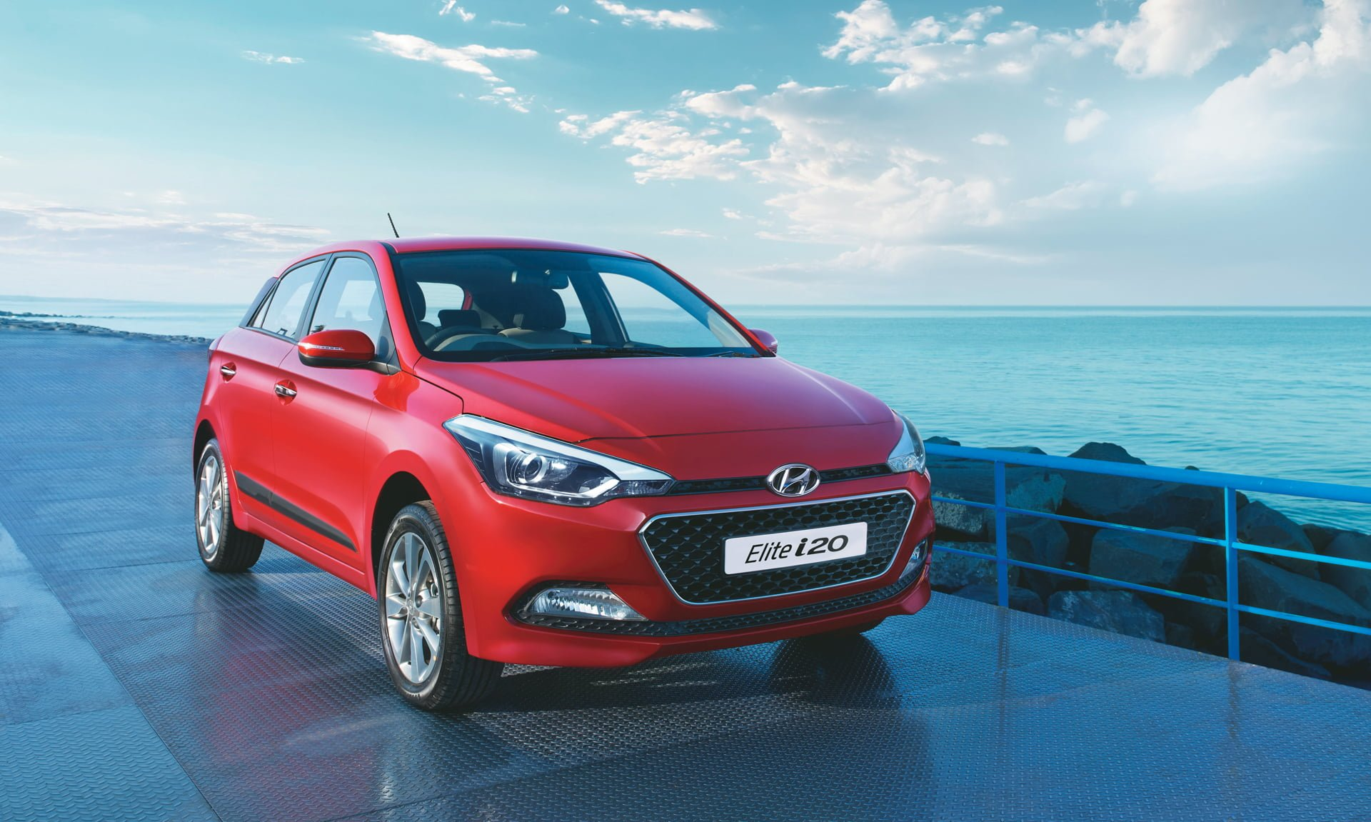 Red 2017 Hyundai Elantra >> New Hyundai i20 India Price, Features, Pics, Specs