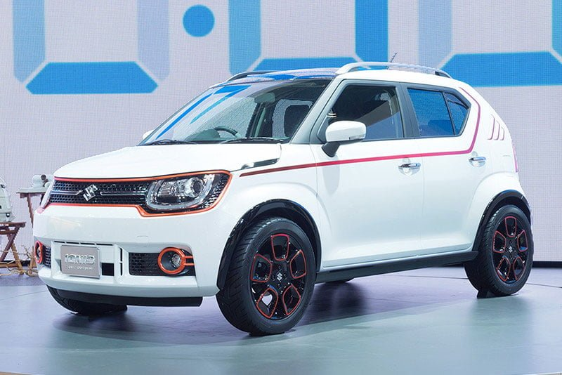 2016 suzuki ignis official trail concept carblogindia. Black Bedroom Furniture Sets. Home Design Ideas