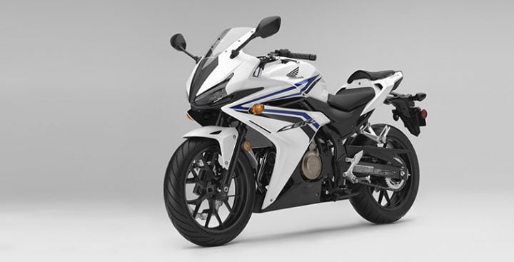 honda-CBR500R-white-blue-front-angle