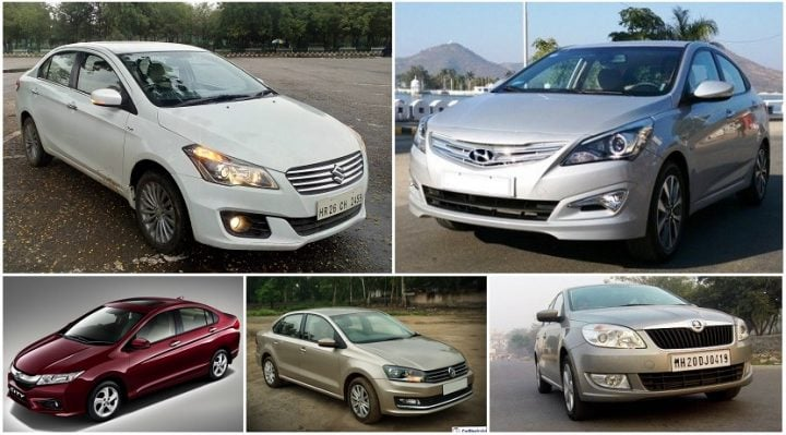 Best Diesel Sedans in India under 10 Lakhs price, images, specs