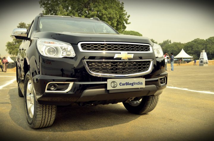 chevrolet trailblazer black front