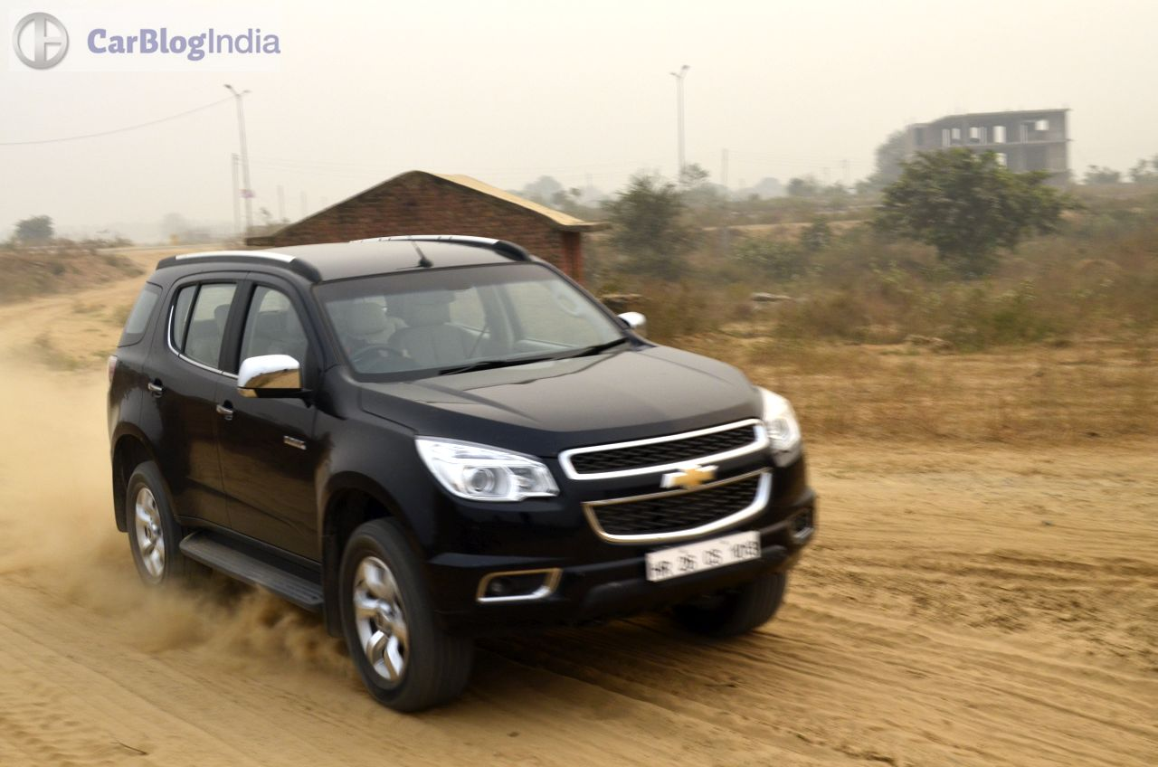 Chevrolet Trailblazer Price in India, Specifications ...