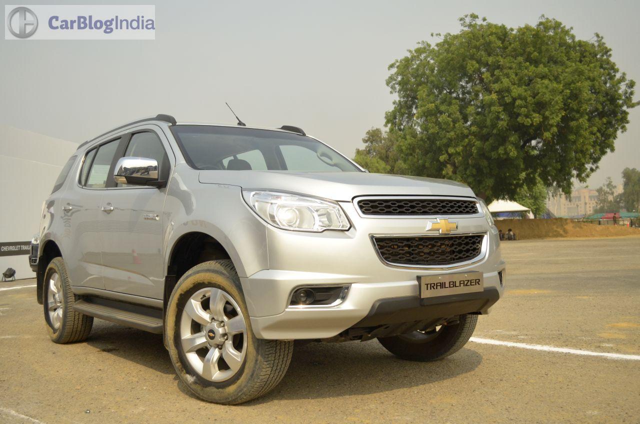 Chevrolet Trailblazer India Price, Pics Features Launch