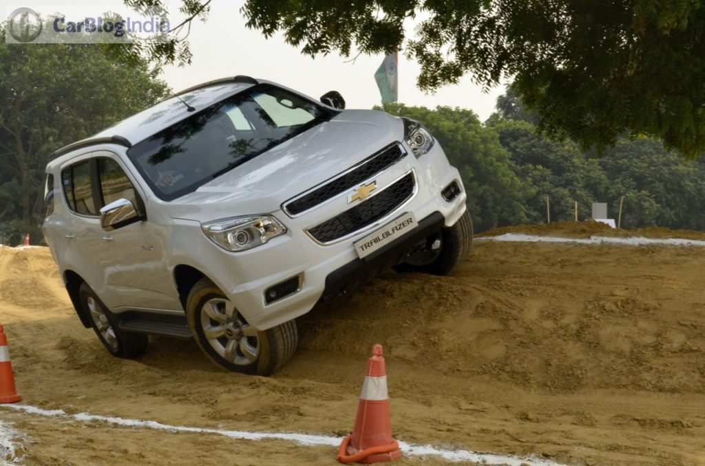 Chevrolet Trailblazer Price In India Specifications Reviews