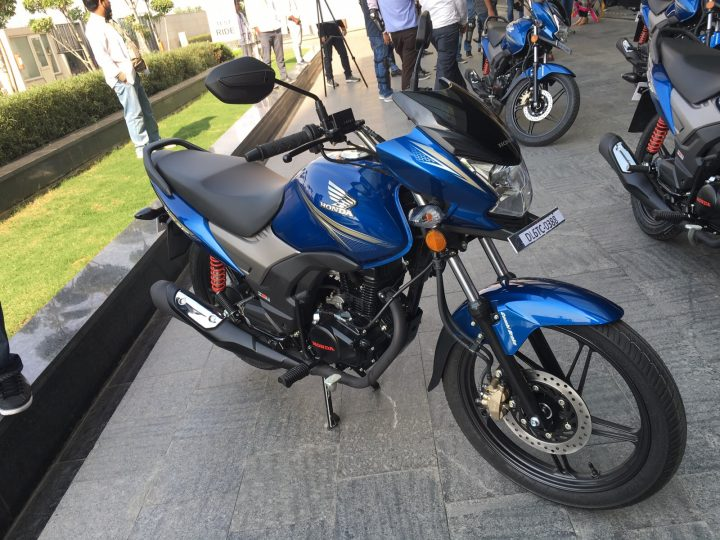 best bike in india 2016 - honda-cb-shine-sp-blue-1
