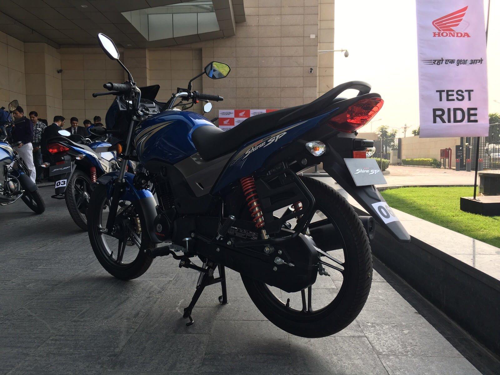 Honda Cb Shine Sp Blue 3