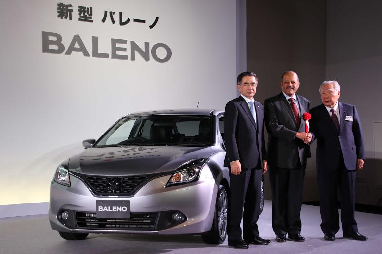 new 2015 baleno maruti suzuki baleno launched in Japan