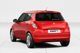 maruti-swift-red-rear-angle