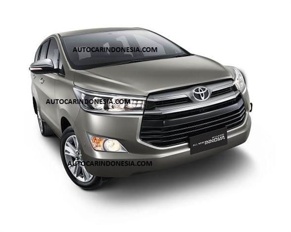 New 2016 Toyota Innova Front Official Photo Carblogindia