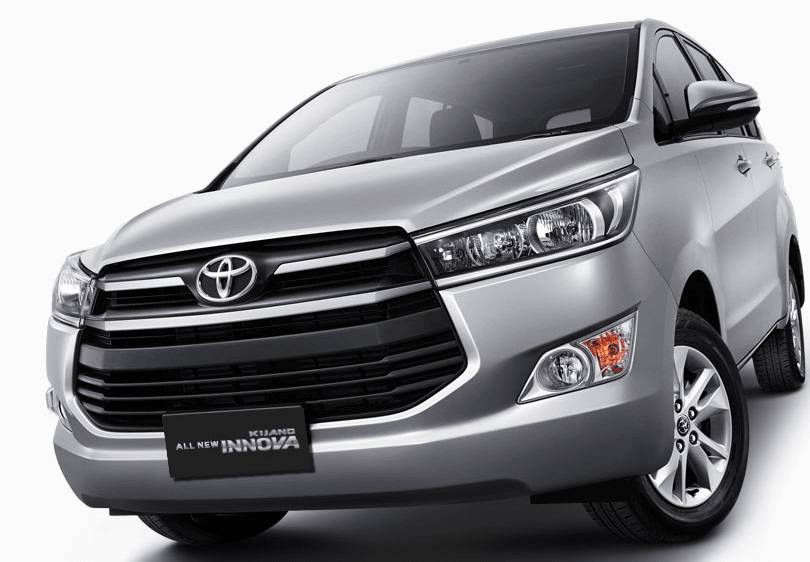 New Model Toyota Innova Front Angle Carblogindia