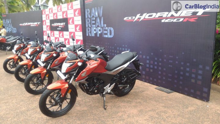 Honda CB Hornet 160R Price, Launch, Mileage, Review 2015-honda-cb-hornet-160r-official-test-ride