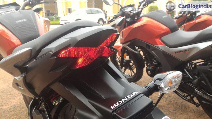 honda cb hornet 160r full fairing model rear