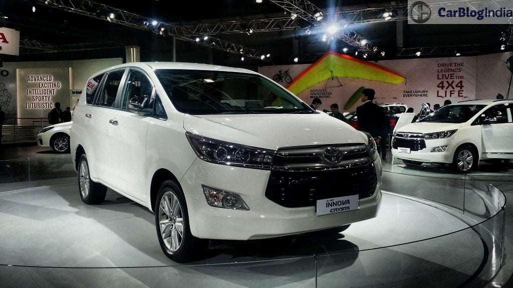 upcoming new car launches india 2016 2016-toyota-innova-crysta-white