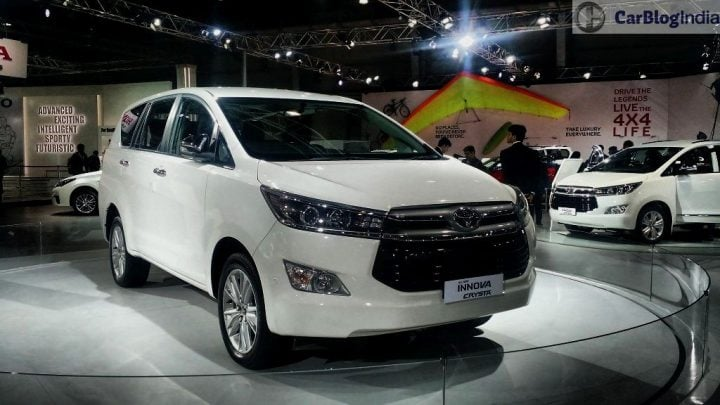 upcoming new car launches india 2016, 2017 - 2016-toyota-innova-crysta-white