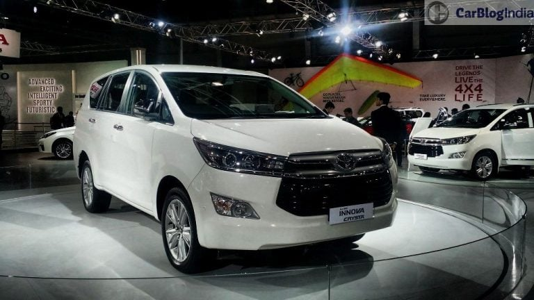 2016 Toyota Innova Crysta Bags Over 18,000 Bookings; Prices Start at INR 13.83 lacs