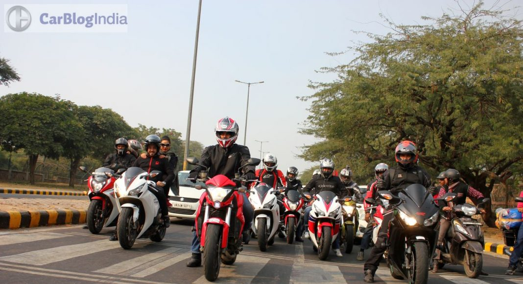 Honda Big Bike owners