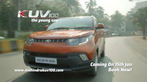 mahindra kuv100 launch