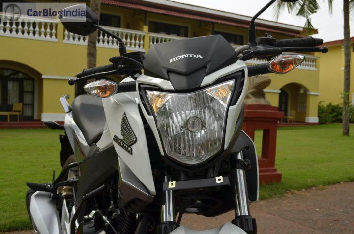Best 150cc Bikes in India - Honda CB Hornet 160R