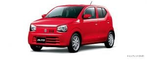 japanese-suzuki-alto-red-front-angle