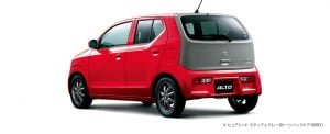 japanese-suzuki-alto-red-rear-angle