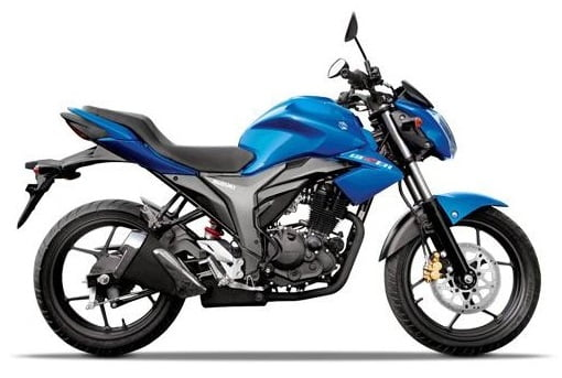 Honda CB Hornet 160R vs Suzuki Gixxer vs Yamaha FZ-S comparison Suzuki Gixxer is the cheapest bike here