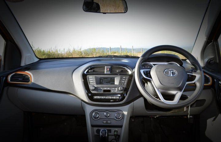 tata zica test drive review interior
