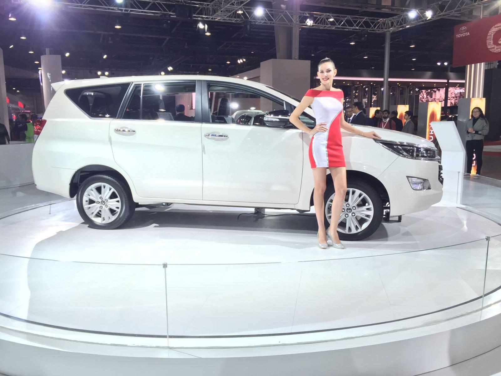 Toyota Cars At Auto Expo 2016 New