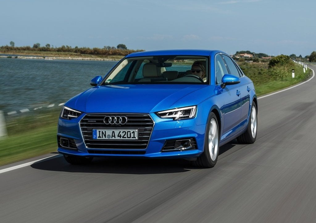 2016 Audi A4 Blue Official Images 2 Carblogindia