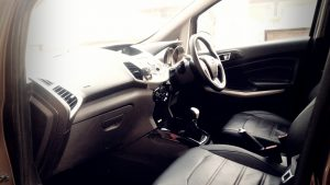 2016 ford ecosport review interior leather seats