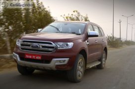 new ford endeavour review action photos