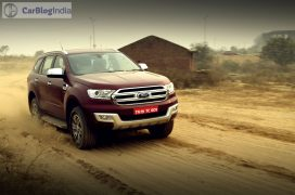 new ford endeavour review action photos off road
