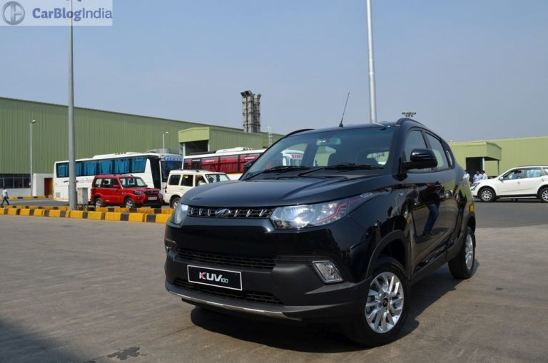 Mahindra KUV100 Receives Overwhelming Response on Flipkart!