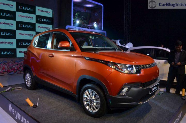 Upcoming SUV cars Under 15 Lakhs - Mahindra KUV100