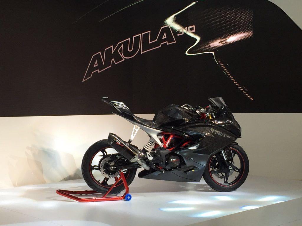tvs-akula-auto-expo-2016 tvs bikes at auto expo 2016