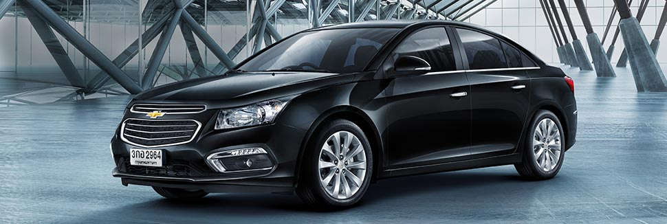 chevrolet cars at auto expo 2016 chevrolet-cruze-facelift-india-black-side